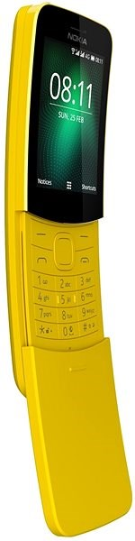 Nokia 8110 4G Yellow Dual SIM - Mobile Phone