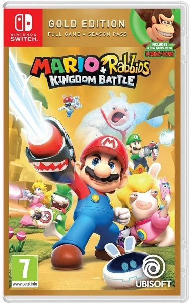 Mario + Rabbids Kingdom Battle - Gold Edition - Nintendo Switch - Console Game