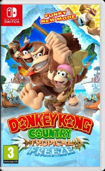 Donkey Kong Country: Tropical Freeze - Nintendo Switch - Console Game