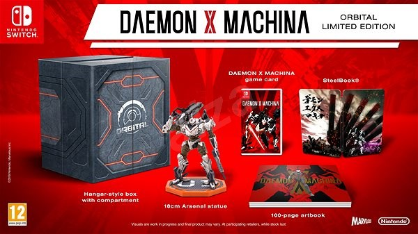 Daemon X Machina Orbital Limited Edition Nintendo Switch