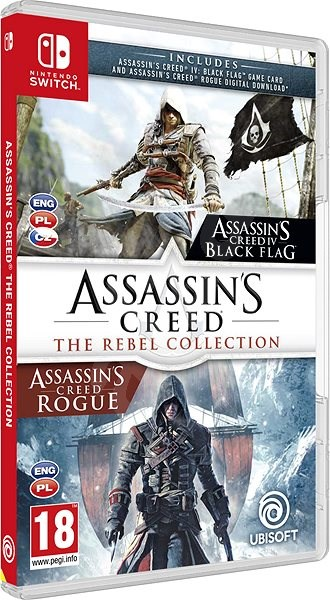 Assassins Creed The Rebel Collection Nintendo Switch Console
