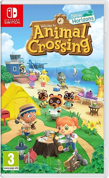 Animal Crossing New Horizons Nintendo Switch Console Game