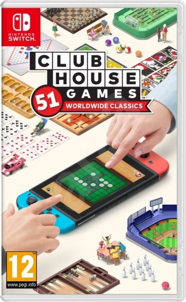 Clubhouse Games: 51 Worldwide Classics - Nintendo Switch - Console Game