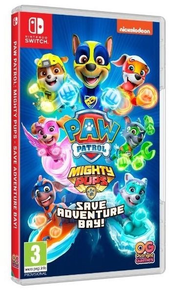 Paw Patrol: Mighty Pups Save Adventure Bay - Nintendo Switch - Console Game