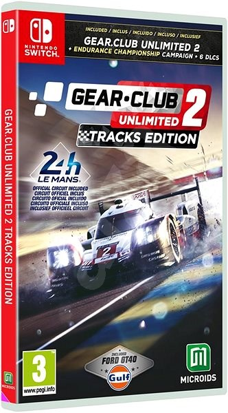 Gear.Club Unlimited 2: Tracks Edition - Nintendo Switch - Console Game