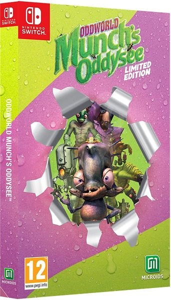 Oddworld: Munch's Oddysee: Limited Edition - Nintendo Switch - Console Game
