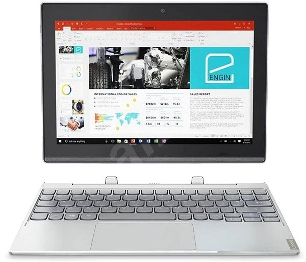 Lenovo Miix 320-10ICR Platinum 64GB + keyboard dock - Tablet PC