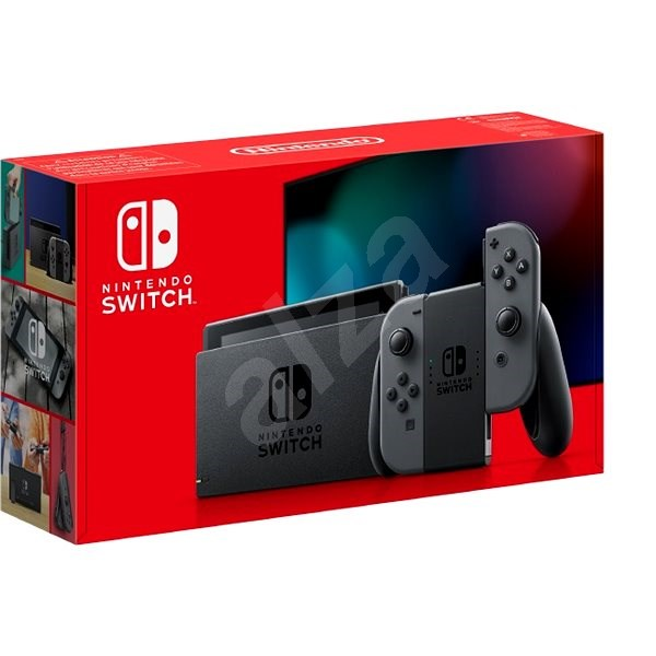 Nintendo Switch - Grey Joy-Con - Game Console