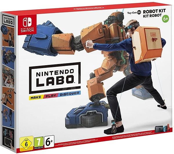 Nintendo Labo - Toy-Con Robot Kit for Nintendo Switch - Console Game