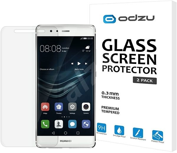 Odzu Glass Screen Protector for Huawei P9 Lite (2016) - Glass protector