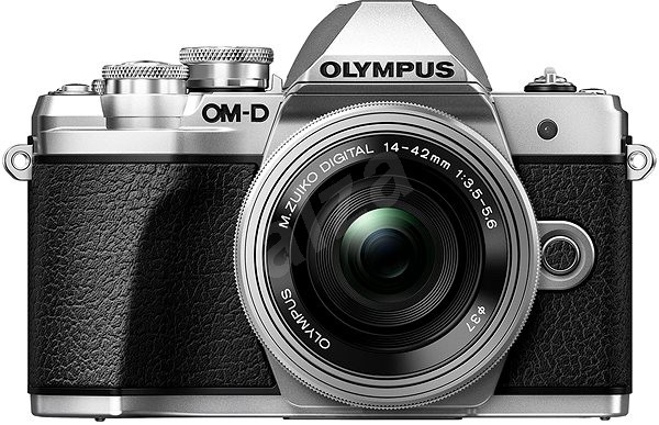 Olympus E-M10 Mark III Silver/Silver + 14-42mm II R - Digital Camera
