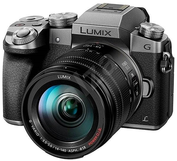 Panasonic LUMIX DMC-G7 Silver + LUMIX G VARIO 14-140mm (F3.5-5.6) Lens - Digital Camera