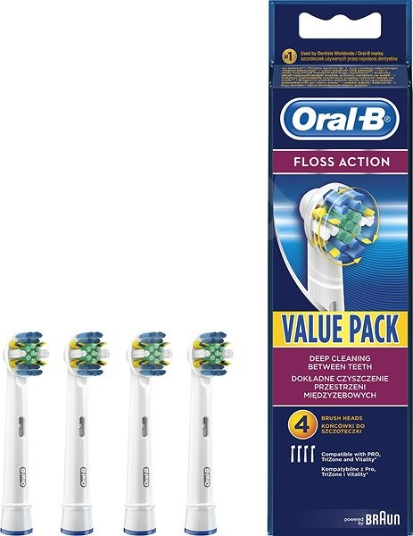 Oral B Floss Action EB 25-4 - Replacement Head