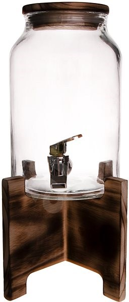 ORION Drinks Dispenser with Tap, 4.2l, includes Stand - Drinks Dispenser