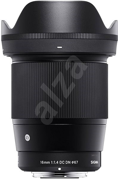 Sigma 16mm f/1.4 DC DN for Sony (Contemporary Series) - Lens