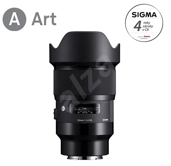 SIGMA 20mm f/1.4 DG HSM ART for Sony E - Lens