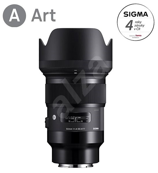 SIGMA 50mm f/1.4 DG HSM ART for Sony E - Lens