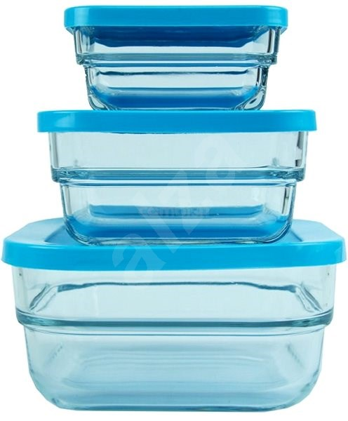 Pasabahce Gourmet 3pcs Food Container Set Alzashop Com
