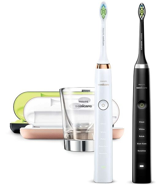philips sonicare diamondclean black rosegold hx9392 39. Black Bedroom Furniture Sets. Home Design Ideas