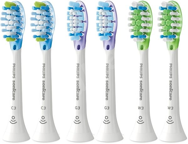 Philips Sonicare Premium Plaque Defence Variety Pack HX9076/07 - Replacement Head