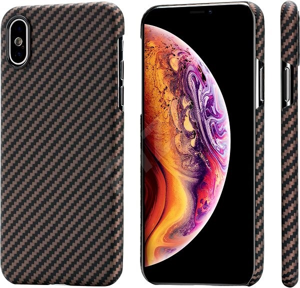 Pitaka Aramid Case Black/Gold XS/X - Mobile Case