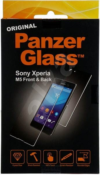PanzerGlass for Sony Xperia M5 front + rear glass - Glass protector