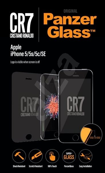 PanzerGlass for iPhone 5/5S/5C/SE CR7 - Glass protector