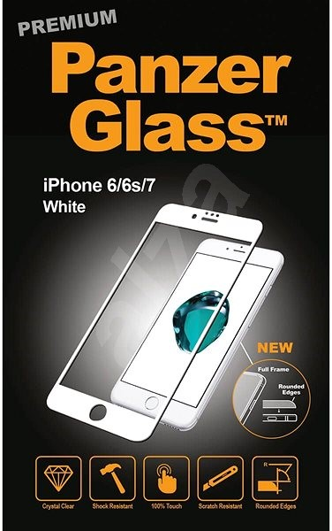 PanzerGlass Premium for Apple iPhone 6 / 6s / 7/8 White - Glass protector