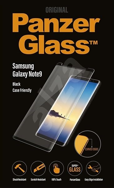PanzerGlass Premium for Samsung Galaxy Note 9 Black Case friendly - Glass protector