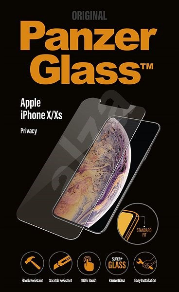 PanzerGlass Standard Privacy for Apple iPhone X/XS Clear - Glass protector