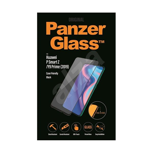 PanzerGlass Edge-to-Edge for Huawei P Smart Z/ Y9 Prime (2019) black - Glass protector