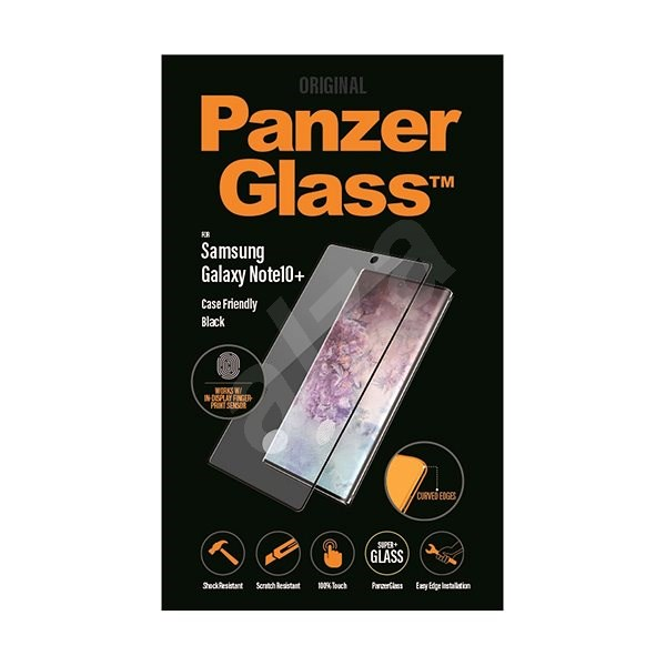 PanzerGlass Premium for Samsung Galaxy Note 10+ Black - Glass protector