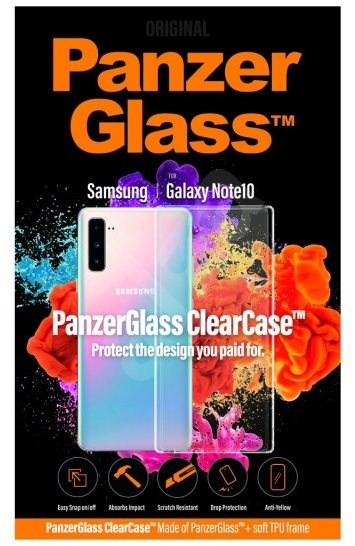 PanzerGlass ClearCase for Samsung Galaxy Note 10 - Mobile Phone Case