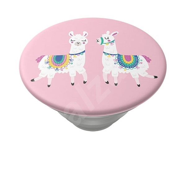 PopSockets PopTop Gen.2 Llamalliance in Pink - Holder