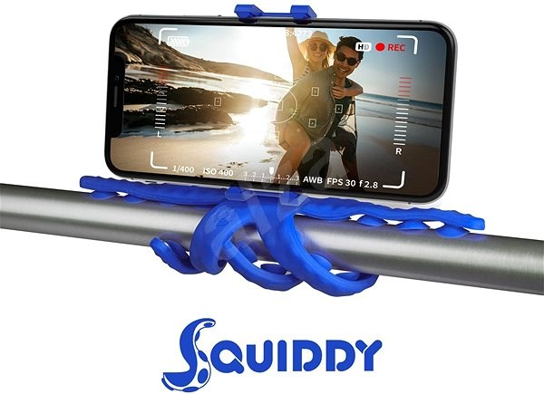 """CELLY Squids for Phones up to 6.2"""" Red - Car Holder"""