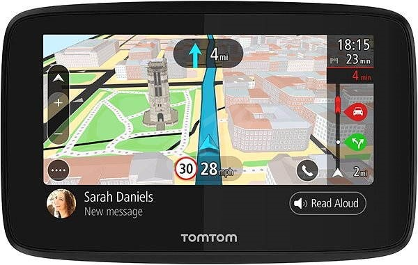 Navigation World Map.Tomtom Go 520 World Lifetime Maps Gps Navigation Alzashop Com