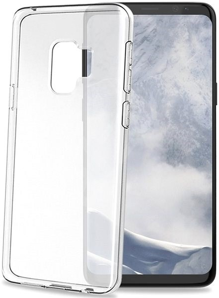 CELLY Gelskin for Samsung Galaxy S9 colourless - Mobile Case