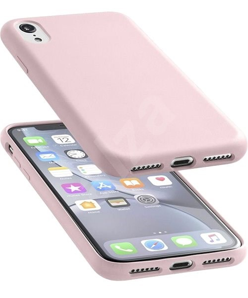 CellularLine SENSATION for Apple iPhone XR Dusky Pink - Mobile Case