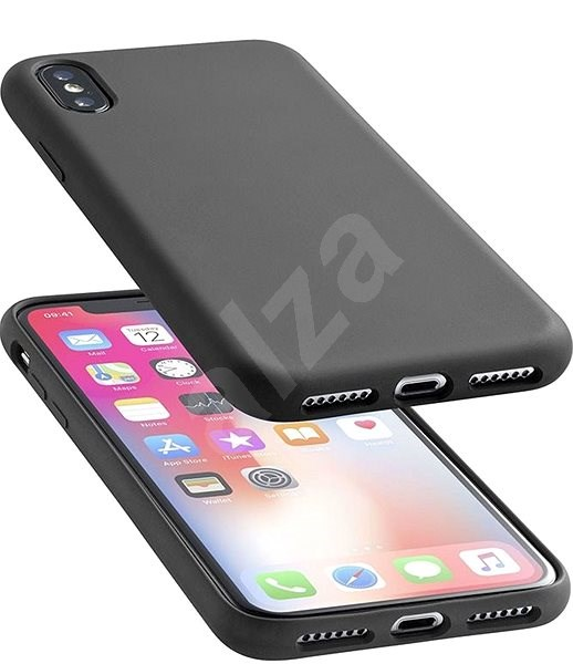 CellularLine SENSATION for Apple iPhone XS Max Black - Mobile Case