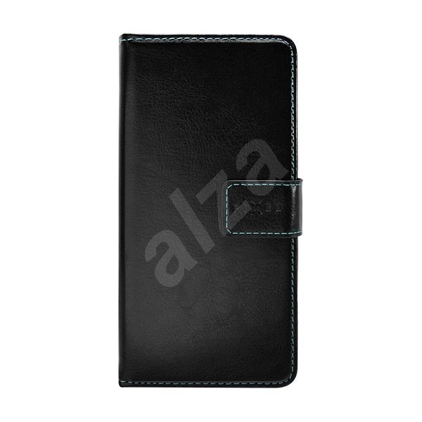 """FIXED Novel for 5- 5.7"""" Phones, PU Leather, Black - Mobile Phone Case"""