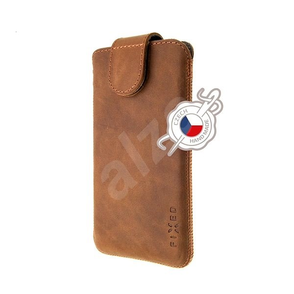 FIXED Posh, size 5XL+, Brown - Mobile Phone Case