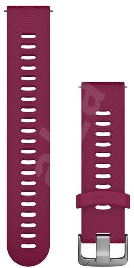 Garmin Quick Release 20, Silicone, Vine (Silver Buckle) - Watch band