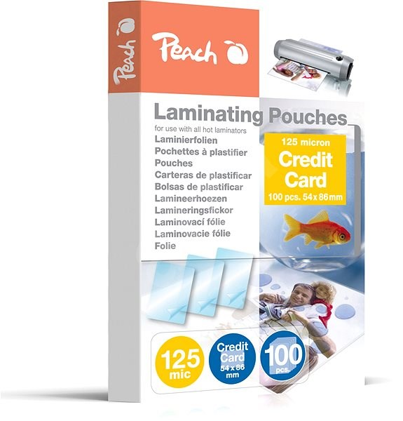 Peach PP525-07 glossy - Laminating Foil
