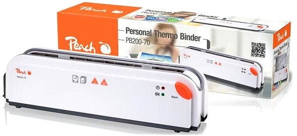 Peach Thermal Binder PB200-70 - Thermal Binding Machine