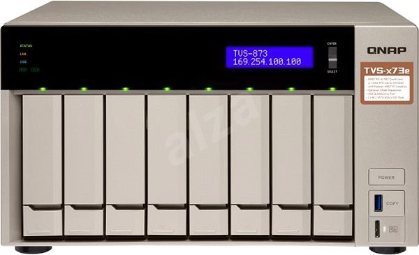 QNAP TVS-873e-4G - Data Storage Device