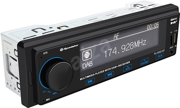 Roadstar RU-695D+BT - Car Stereo Receiver