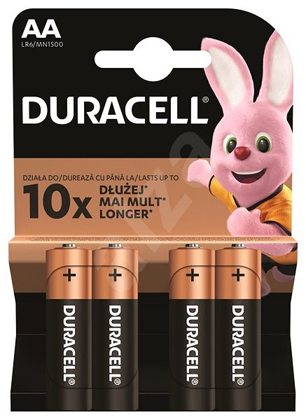 Duracell Basic AA 4 pcs - Disposable batteries