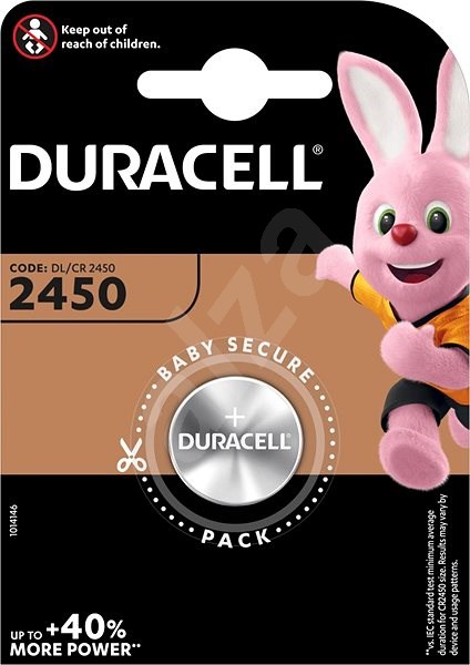 Duracell CR2450 - Button Cell