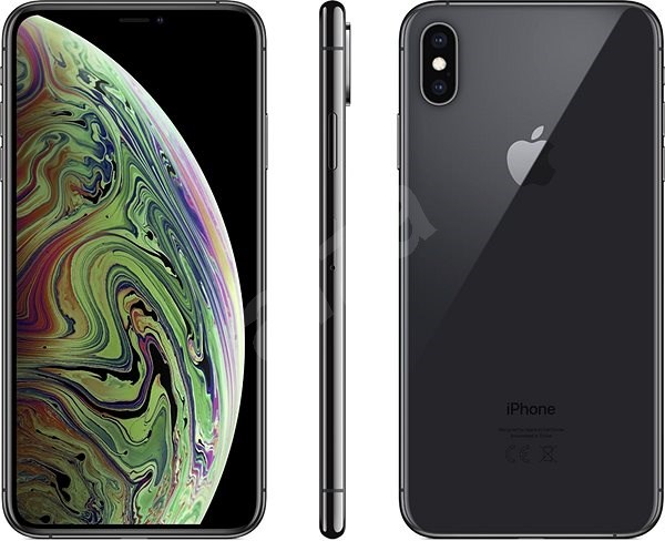 iPhone Xs Max 64GB Space Gray - Mobile Phone
