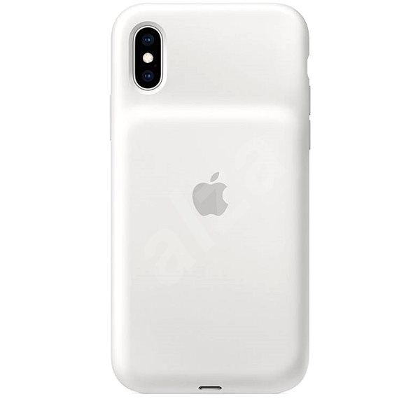 iPhone XS Smart Battery Case White - Charger Case